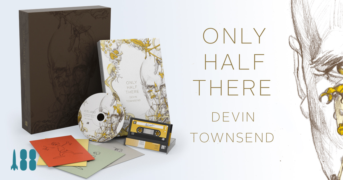 Only Half There Canadian Musician Devin Townsend S Autobiography